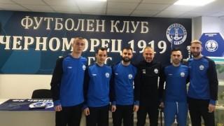 Черноморец 1919 с осем контроли, ще играе с втория отбор на Лудогорец