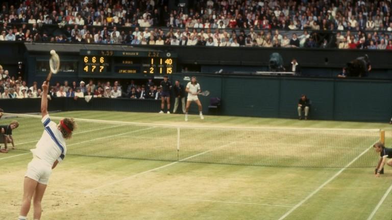 По-възрастните любители на тениса си спомнят началото на осемдесетте години