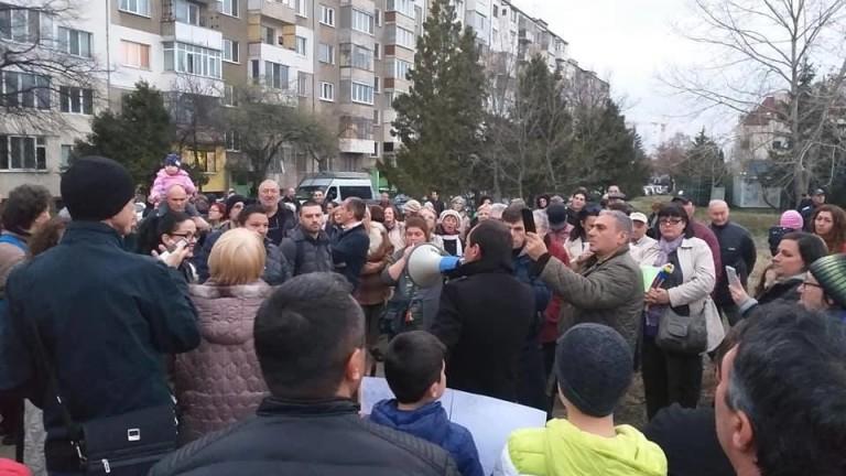 """Протестиращите в """"Младост"""" настояват за промяна на ПУП"""