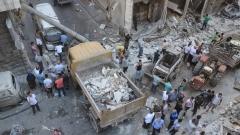"""""""Ислямска държава"""" пое отговорност за серията бомбени нападения в Сирия"""