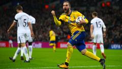 """Паметна лондонска вечер за Юве, """"Старата госпожа"""" е на 1/4-финал в Шампионската лига"""