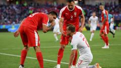 Джердан Шакири е Играч на мача Сърбия - Швейцария
