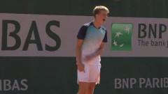 Българин на полуфинал на Ролан Гарос!