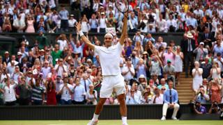 """Шампионът Федерер: Не вярвах, че пак ще стигна до финал на """"Уимбълдън"""""""