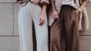 Тенденция назаем: плетени панталони