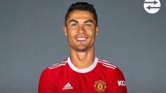Официално: Кристиано Роналдо се завърна в Манчестър Юнайтед!