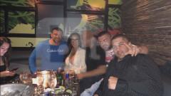 Първа снимка от партито с Кобрата и Джени Суши