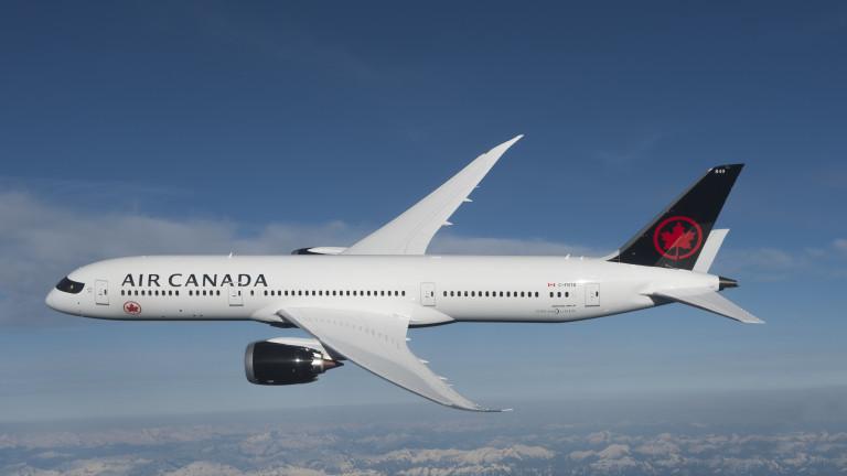 Десетки ранени при тежка турбуленция в самолет на Air Canada