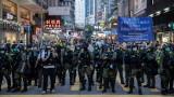 Хонконг шокиран от насилствения полицейски арест на 12-годишно момиче