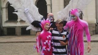Йордан Йовчев се щракна с артистите на Cirque Du Soleil