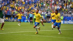 Бразилия продължава уверения си ход към титлата, Неймар и Фирмино нокаутираха Мексико!