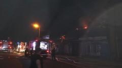 Велосипеди и техника изгоряха след пожар на борса в Шумен