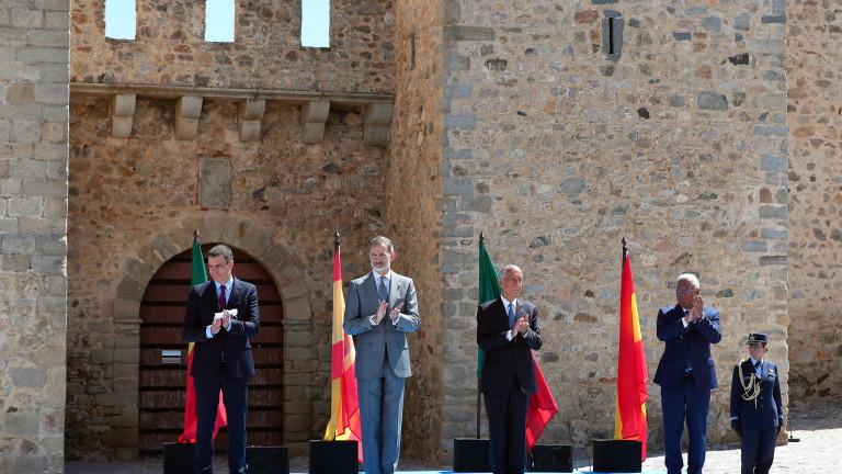 Испания и Португалия отвориха общата си граница