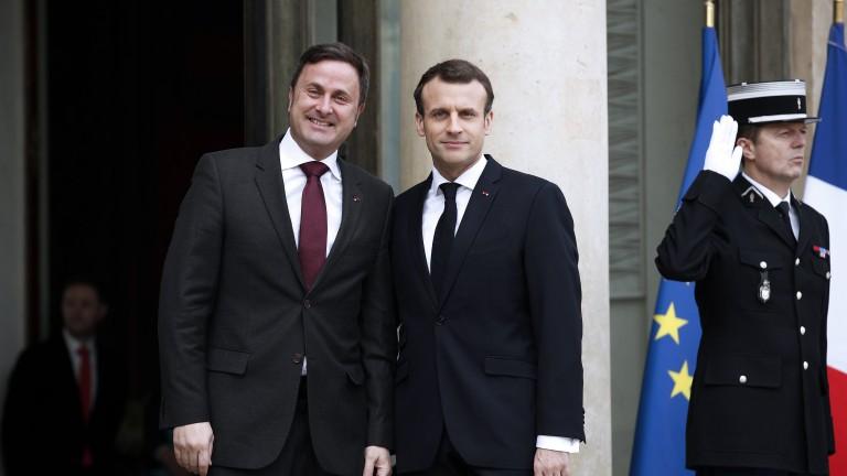 Френският президент Еманюел Макрон предприема международна кампания за популяризиране на