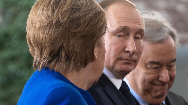 Меркел настоява: ЕС трябва да се стреми към пряк контакт с Путин
