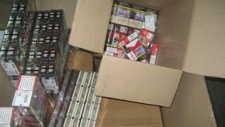 Иззеха 750 000 контрабандни цигари от вила в Плевен
