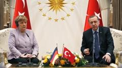 Меркел натисна Ердоган да уважава свободата на словото