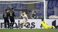 Рома удържа Аякс и е на полуфинал в Лига Европа