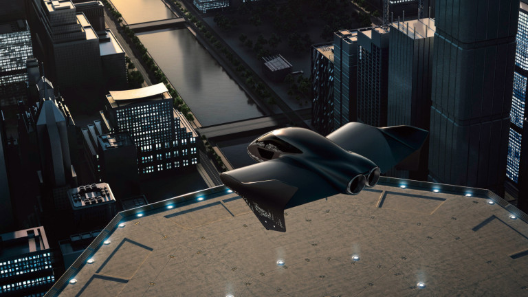 Porche и Boeing работят по скъпарска летяща кола