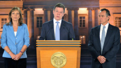 Ще оперират колумбийския президент от онкологично заболяване