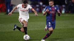 Севиля удари Уеска за трета поредна победа в Ла Лига