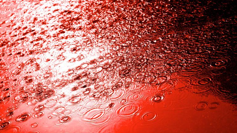 Червен дъжд падна в Русия