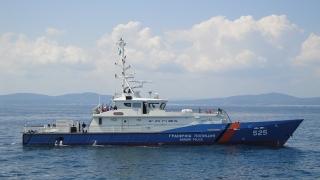 """Граничният ни кораб """"Обзор"""" се включи в операция на """"Фронтекс"""" в Гърция"""