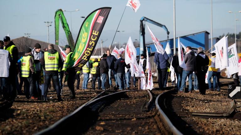 Стотици миньори се включиха в стачка в Полша тази седмица,
