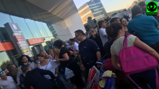 Евакуация на летището във Варшава