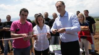 БСП преряза лентата на непостроения завод за боклук