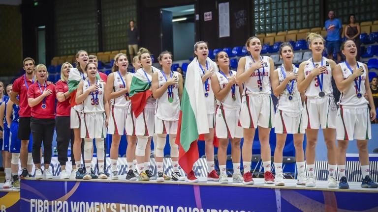 Дамският национален отбор на България по баскетбол до 20 години