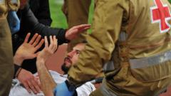 Мони Славчев се възстанови от сблъсъка с Роналдо