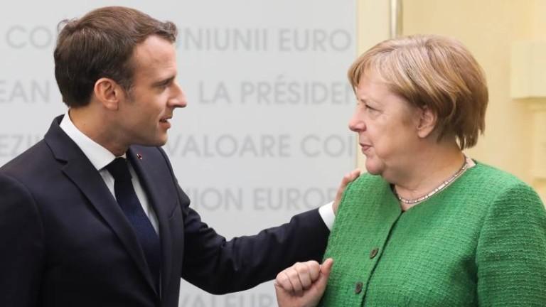 Макрон би подкрепил Меркел да оглави ЕК