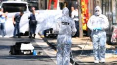 Микробус се заби в автобусни спирки в Марсилия, един загинал