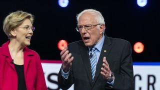 Сандърс атакуван яростно от конкурентите си демократи в хаотичен дебат, Тръмп ликува