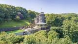 Замъкът с обзавеждане от 19-ти век, гледащ към бреговете на Англия, се продава за £4 милиона