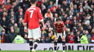"""Ман Юнайтед с нова грешна стъпка на """"Олд Трафорд"""""""