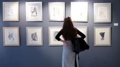 Наши колекционери и ценители запленени от Дали