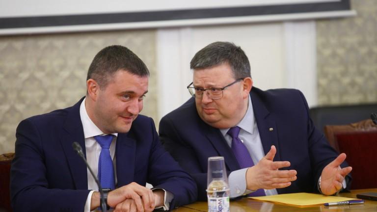 Горанов отстъпи пред Цацаров - повече пари за съдебната власт в Бюджет 2019