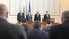 Депутатите почетоха с минута мълчание Гиньо Ганев и жертвите в Турция и Германия