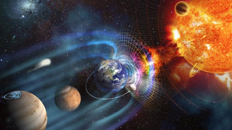 Обръщането на магнитните полюси на Земята със спад на слънчевата