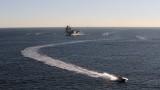 """Американски вертолет MH-60 се разби на палубата на самолетоносача """"Роналд Рейгън"""""""