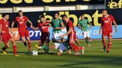 Берое - ЦСКА (Развой на срещата по минути)