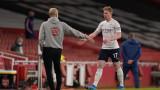 Манчестър Сити с гросмайсторска победа срещу Арсенал