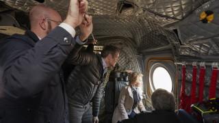 Фон дер Лайен подкрепи Гърция за мигрантите и предупреди разделящите Европа