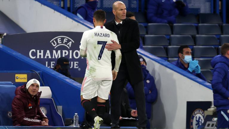 Трудно ще принудят Еден Азар да напусне Реал