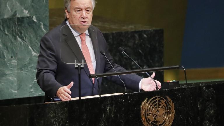 """Шефът на ООН предупреди:  Световният ред е """"все по-хаотичен"""""""