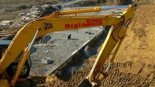 Строителството в Иракли не е спряно