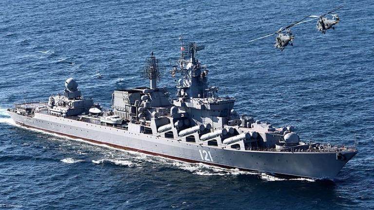 Военен кораб на Русия тръгна от Крим към Азовско море