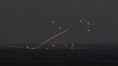Девет ракети изстреляни от Газа към Израел